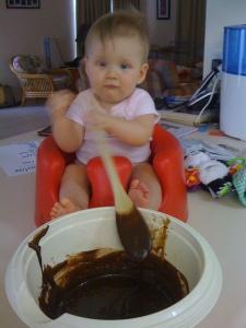 'Marly makes Brownies'